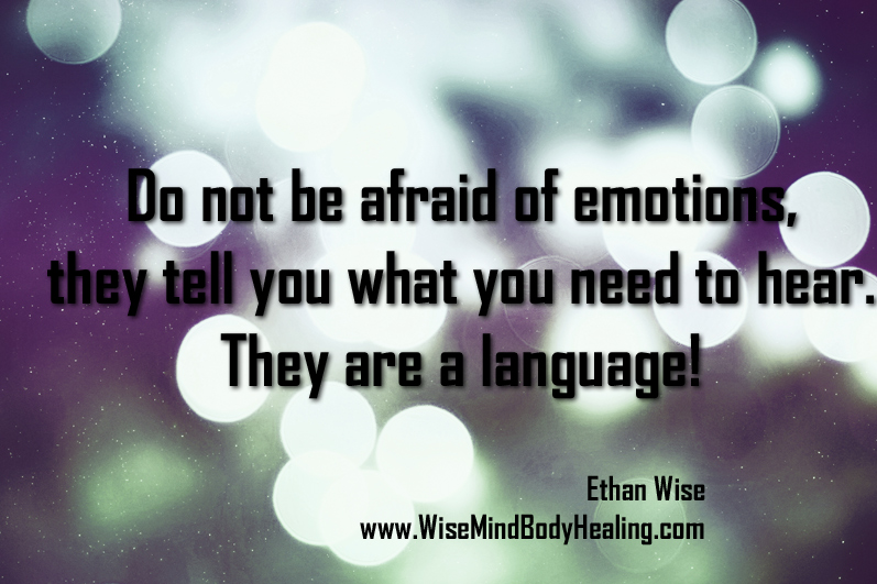 There's no such thing as a bad emotion!