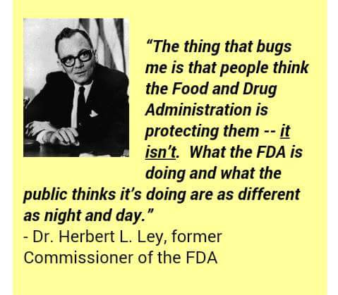 people think the FDA is protecting