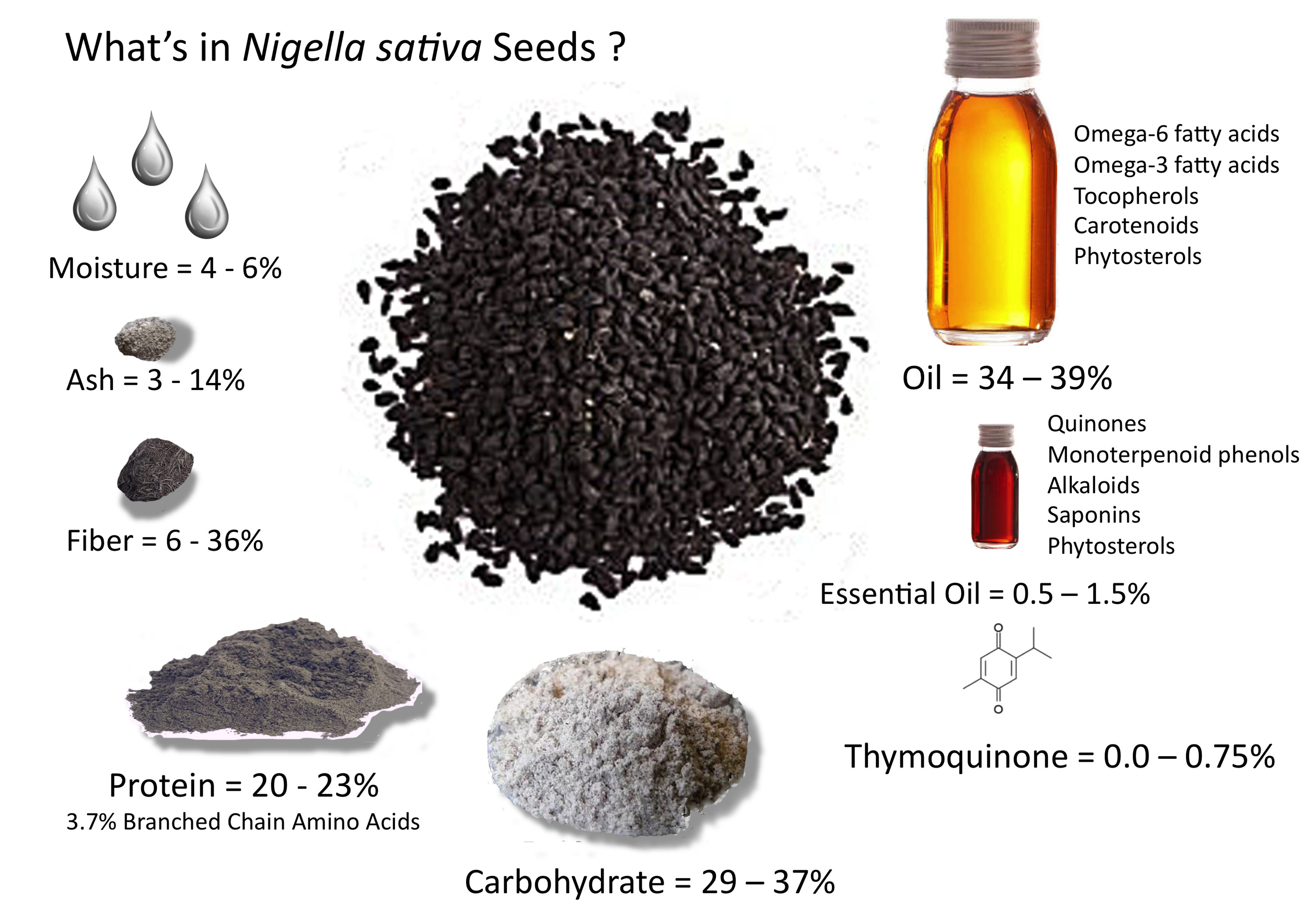 Amazing Health Benefits of Black Cumin Seed, Black Seed, Nigella Sativa