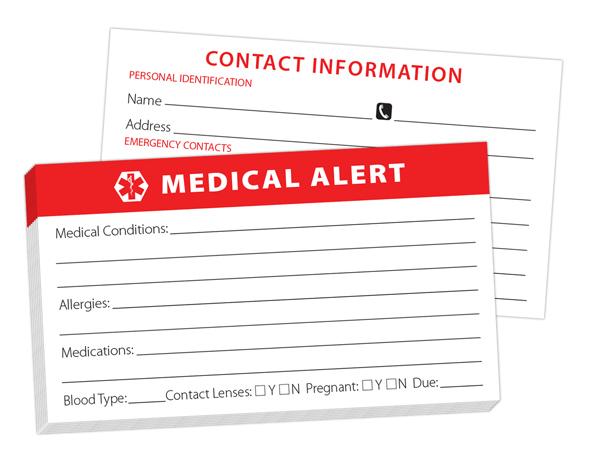 Medical-Alert-card