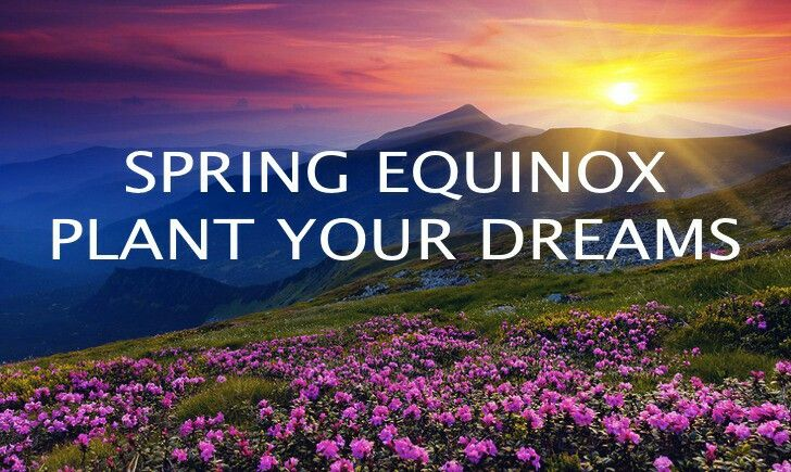Happy First Day of Spring, Spring Equinox 2020!
